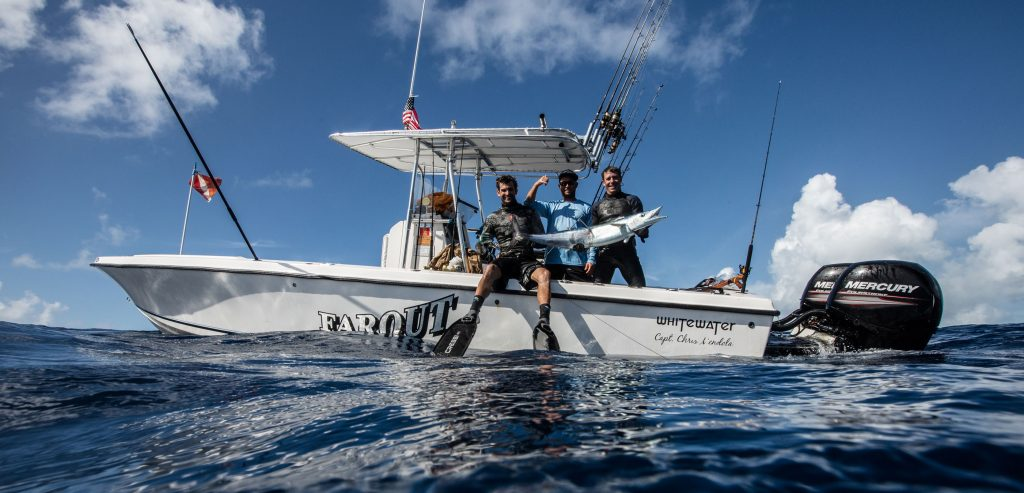 Spearfishing trips key west fishing charters far out for Key west fishing boats