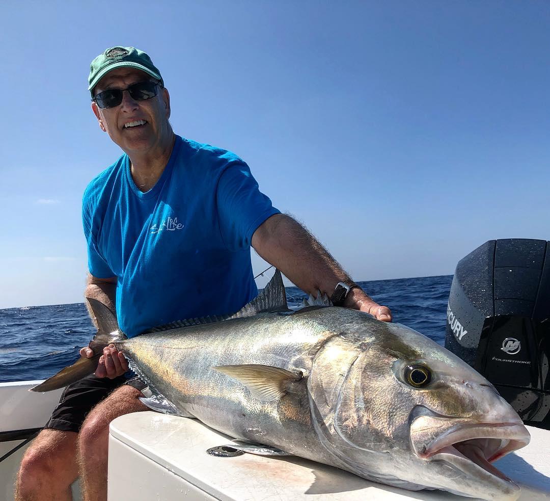 Amberjack Fishing On Far Out Fishing Charter Boat